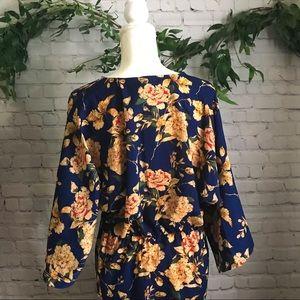 ba1115355128 Boohoo Dresses | Nwt Tall Kelly Floral Knot Front Kimono Dress ...